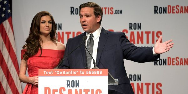 Ron DeSantis, the Trump-backed Florida gubernatorial nominee, repeatedly spoke at events organized by a racist