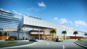 Designs for new Terminal 25 of Celebrity Cruises