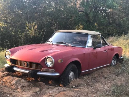 Would You Dig Up $2,000 To Unmire This '1978' Fiat 124 Spider?