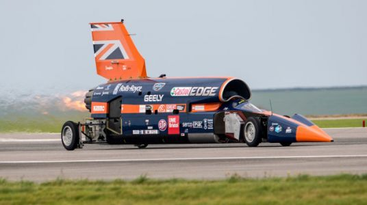 The Bloodhound Supersonic Car Project Is Back On and Going for the Land-Speed Record