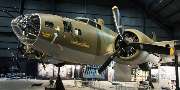 The Memphis Belle WWII bomber is back on display after 13 years of restorations - here's what it looks like