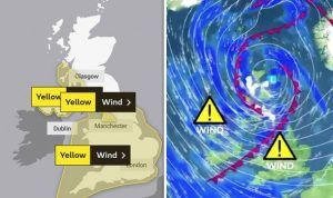 Storm Gareth: 70 MPH winds and rain to cause travel chaos in UK