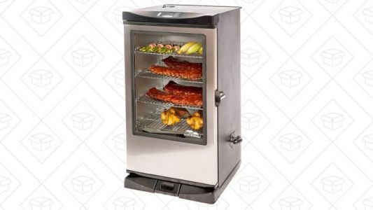 This Masterbuilt Electric Smoker Is Back in Stock, Only $287