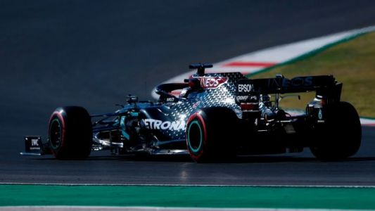 Lewis Hamilton Secures 97th Career Pole Position At Portuguese Grand Prix