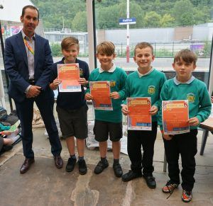 York Primary School Pupils Come Out Top in Railway Competition