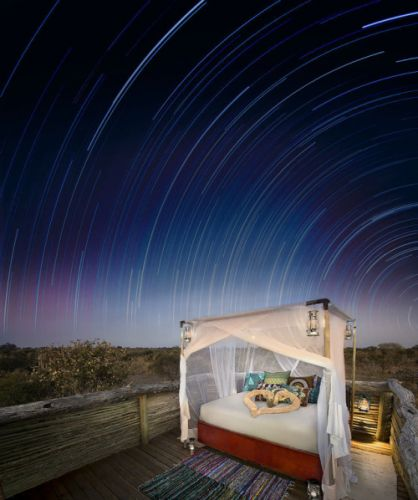 Guests at Khwai Private Reserve Sleep Under the Stars in Stylish