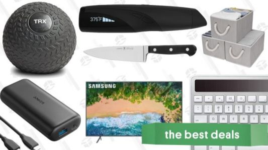 Saturday's Best Deals: Anker Charging Gear, Samsung TV, 4/20 Sales, and More