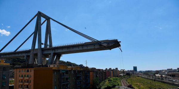 The engineer who designed the Genoa bridge that collapsed and killed 43 people warned of its corrosion risk 39 years ago