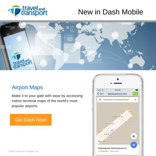 New in Dash Mobile - Airport Maps!