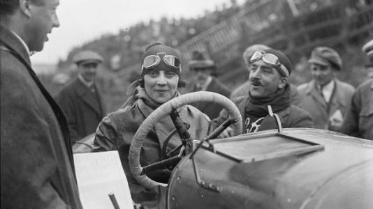Italy's First Female Racer Was a Driving Advocate for All Women