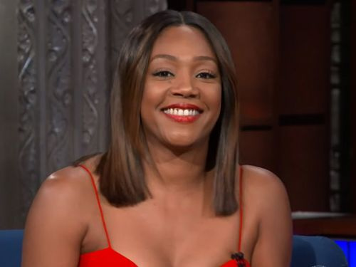 Tiffany Haddish is obsessed with her weighted blanket and says it's better than a man