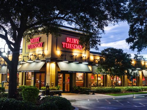 Ruby Tuesday has quietly closed 147 restaurants since late January. Here's the full list
