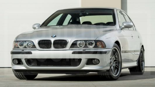This 437-Mile 2002 BMW M5 Sold for $176,000 at Auction