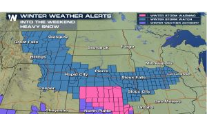 Another weekend, another storm for the northern U.S