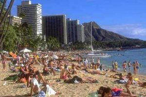 Hawaii welcomed a record 9.9 million tourists last year and generated $2.08 billion in revenue