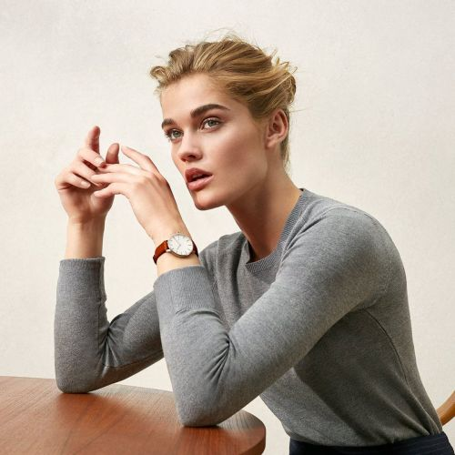 This popular Kickstarter-alum is making everyday luxury watches for under $300 - and the leather bands can be swapped in seconds for a new look