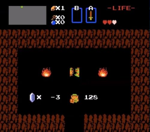 The original 'Legend of Zelda' has a massive hidden area that one player finally opened, more than 30 years later