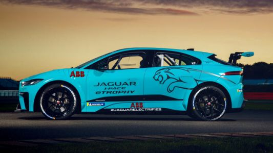 Jaguar's I-Pace eTROPHY Race Car Does Some Amazing Things With Electricity