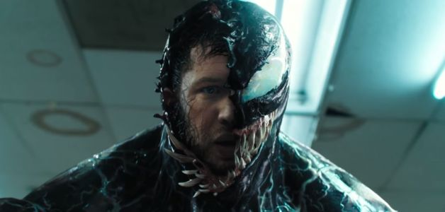 Tom Hardy based his 'Venom' performance on 3 unlikely people, including Woody Allen - and he didn't tell Sony