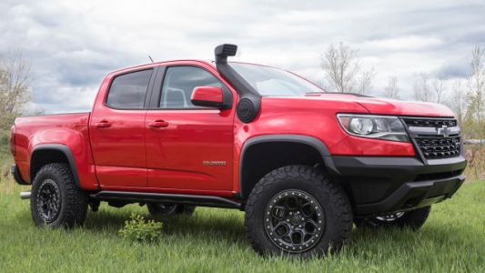Here's Why The 2018 Chevy Colorado ZR2 Has Been Spotted With A Snorkel