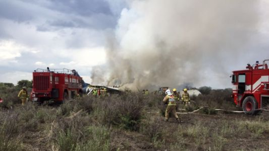 Aeromexico Flight Crashes Shortly After Takeoff, 101 Aboard Reportedly Survive