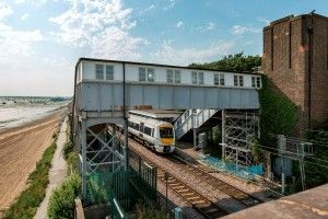 Repair work to take place at Chalkwell station footbridge