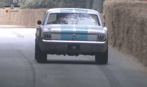That Self-Driving 1965 Ford Mustang At Goodwood Was Probably Destined To Fail