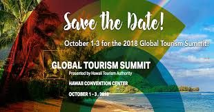 2018 Hawaii Global Tourism Summit ends on October 3