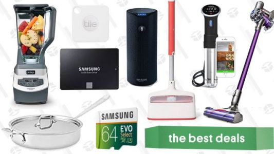 Friday's Best Deals: Anova Sous Vide Cooker, 1TB SSD, Dyson V6 Animal, and More