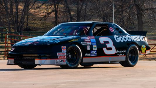 Several of Dale Earnhardt's Race Cars Will Be Up for Auction Later This Week