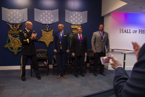 3 defense contractors received the Pentagon's highest civilian valor award for fighting insurgents in Afghanistan