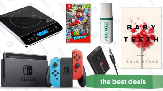 Sunday's Best Deals: Mar10 Switch Discounts, Kindle Ebooks, Induction Burners, and More