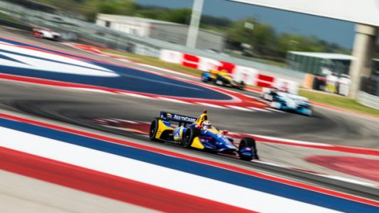 Here's All the Action From IndyCar Practice At COTA