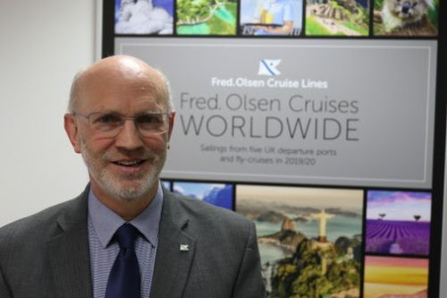 Fred. Olsen Cruise Lines' Managing Director Mike Rodwell to retire after over 30 years