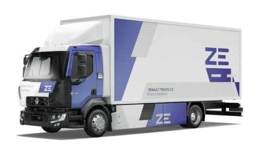 Renault's First 16-Ton Electric Freight Truck Has Been Unleashed To Quietly Trundle The Streets Of France