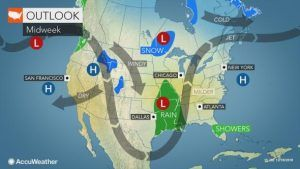 Holiday travel to be impacted due to East Coast storm, Northwest to face the strongest