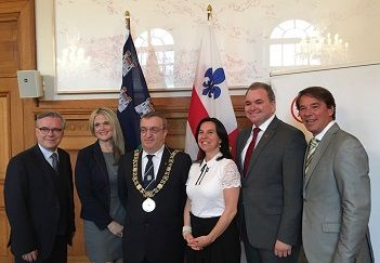 Lord Mayor of Dublin lends a hand to boost tourism from Canada