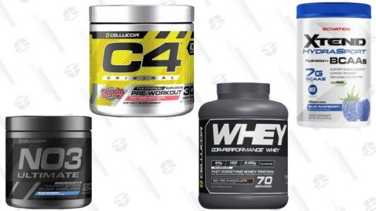 Stock Up On Supplements With This 30% New Year's Discount