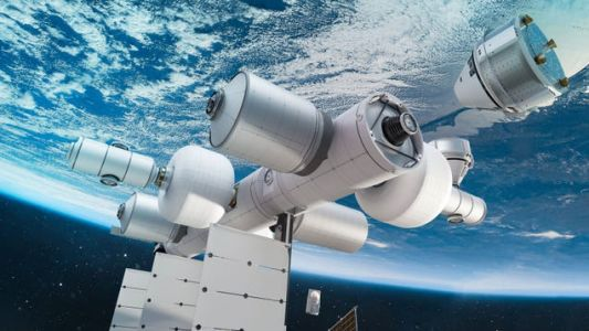 Blue Origin's Space Station Will Give Billionaires The Best View Of Our Burning Planet