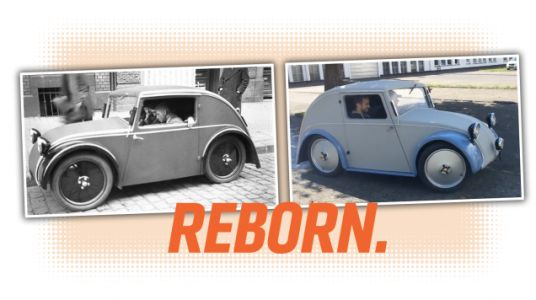 The 1933 Proto-Beetle Designed by a German Jew Who Was Erased From History Has Been Restored