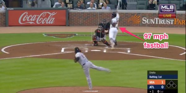 Marlins pitcher ejected on first pitch of game for beaning the hottest hitter in baseball
