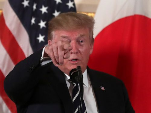 Trump slammed Japan for having a 'substantial edge' over the US on trade as tensions simmer