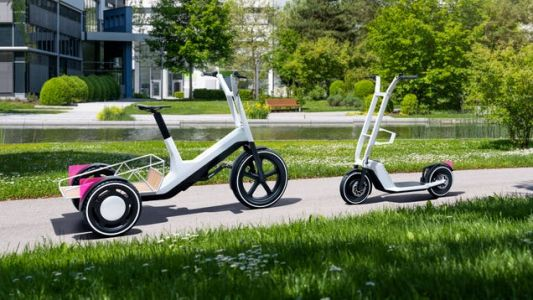 BMW Is Really Proud Of Its Electric Cargo Bike And Scooter, Yet Refuses To Sell Them
