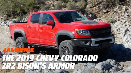 Here's a Closer Look at the 2019 Chevy Colorado ZR2 Bison's Armor