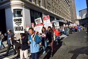 Largest multi-city hotel strike in North American history - Marriott