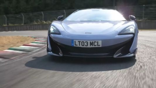 McLaren 600LT a Good Car, Says Chris Harris