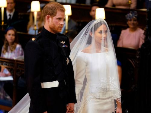 Meghan Markle wore a Givenchy gown for the royal wedding - and it's just as stunning as Kate Middleton's