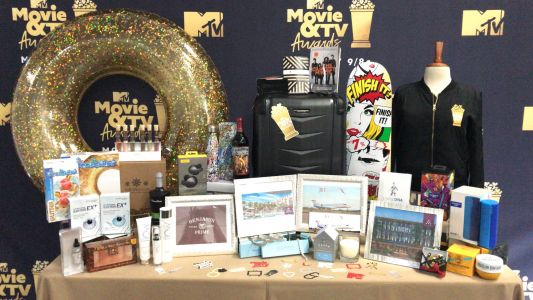 Here's everything in the $100,000 swag bag given to celebrities at the MTV Movie and TV Awards
