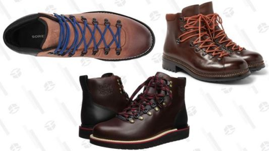"The Best ""I'm Not Actually Going Hiking"" Hiking Boots In Your Price Range"