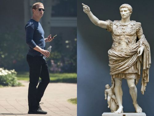 Mark Zuckerberg has been fascinated by Augustus Caesar for years, and it raises some questions about the future of Facebook